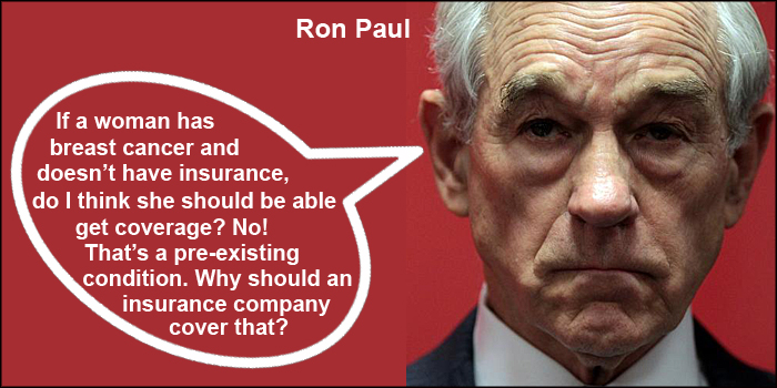 Ron Paul, Libertarian